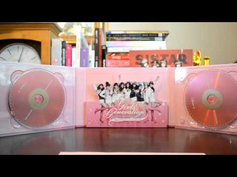 """UNBOXING SNSD Girl's Generation """"The 1st Asia Tour"""" 2 DVD photobook review 少女時代 소녀시대"""