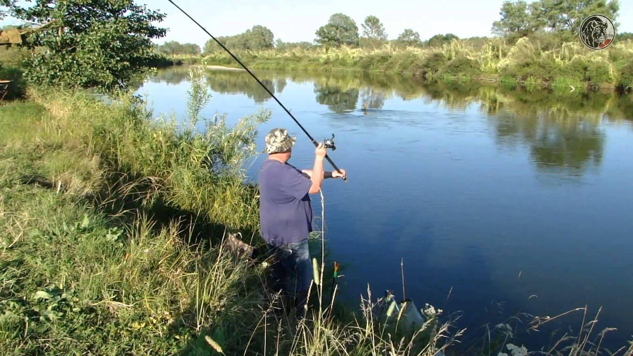 рыбалка видео на река или озеро
