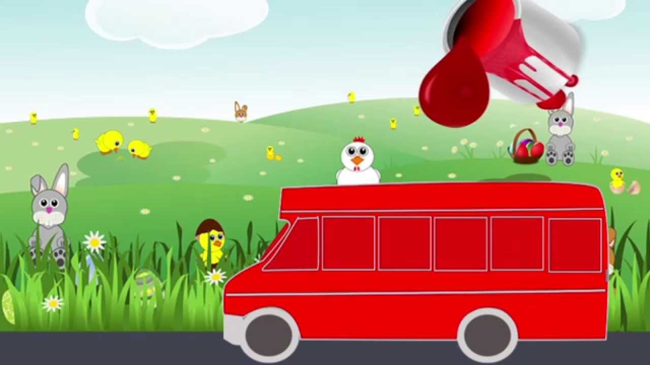 Мультики. Мультики для детей про Машинки: Автобус. Учим ...