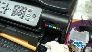 Brother Printer Unclogging Printhead