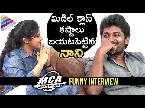 MCA Nani Funny Interview | MCA Telugu Movie | Sai Pallavi | Bhumika | DSP | #MCA | Telugu Filmnagar