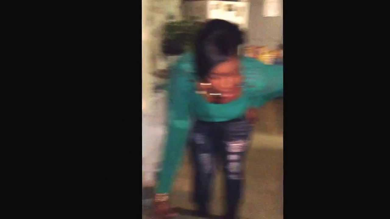 32 year old women getting a whooping by her mother