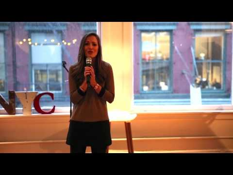 Laura Osnes Unplugged: A Cinder-Epic Medley