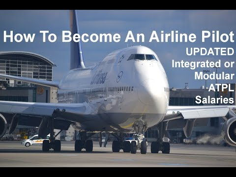How To Become A Commercial Airline Pilot, Salary, Training, CPL, ATPL