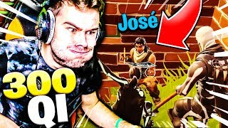 UN JOSÉ AVEC 3000 DE QI SUR FORTNITE BATTLE ROYALE !!!
