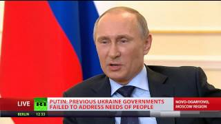 Putin: Yanukovich has no political future, I don