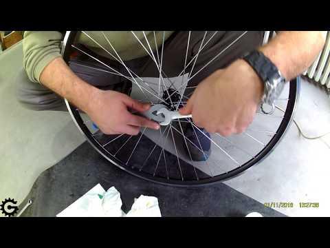 Servis nable (glave točka) bicikla [0004]