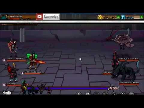 Ninja Saga Level 80 Exam Stage 1-2 [ SENIOR TUTOR EXAM ] [ Road to Ninja Tutor] { Hard mode }
