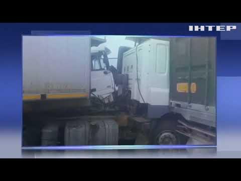 Подробности: На трасі під Одесою зіткнулися 11 автівок