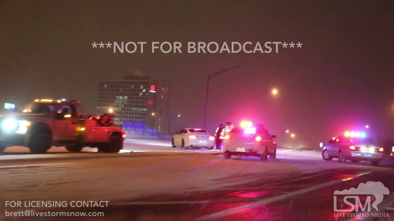 01-30-19 Louisville, KY - Accidents and Snow covered roads in overnight  surprise snow