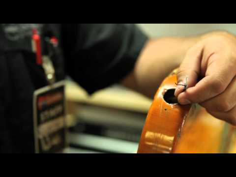 How to replace an input jack on an electric guitar