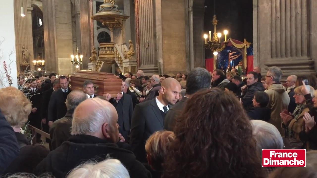 Les obsèques de Michel Delpech - YouTube