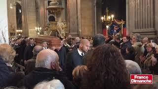 Les obsèques de Michel Delpech