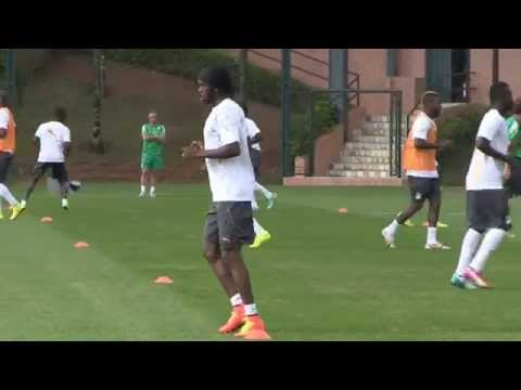 Ivory Coast train in Brazil ahead of World Cup