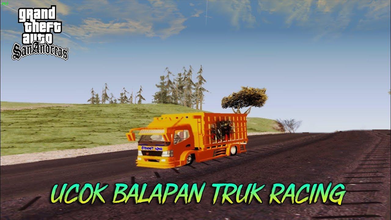 Gta Sa Indonesia Pc Mod Review Truck Fuso Extreme Gta Ora Lucu Jawa