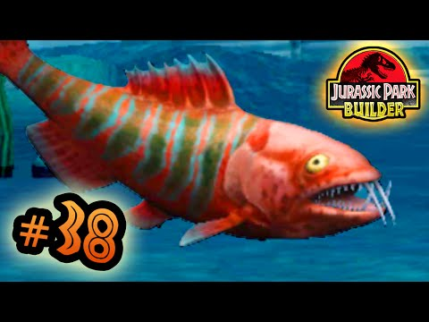 Jurassic Park Builder: MARINE Tournament: Part 38 Vampire Fish! HD