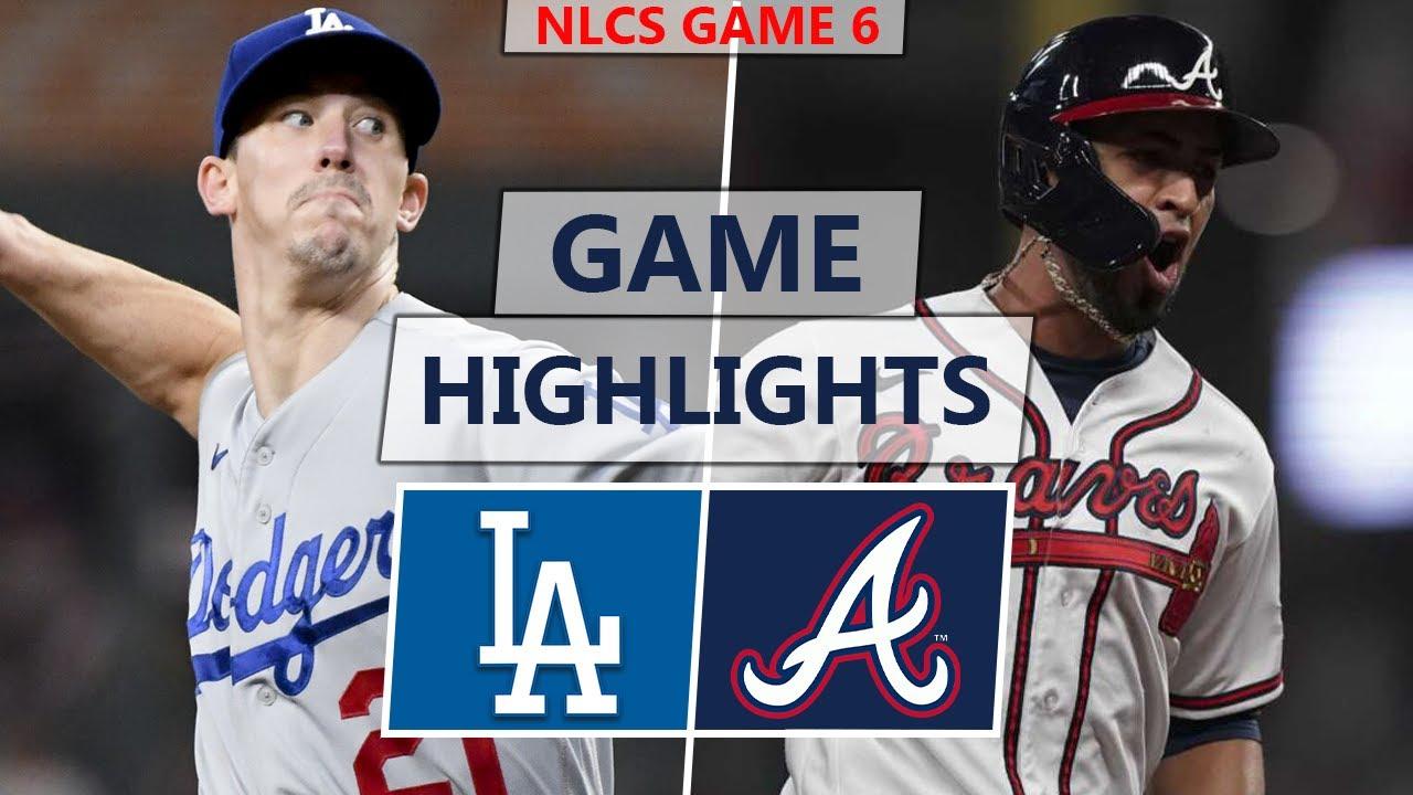 Download Los Angeles Dodgers vs. Atlanta Braves Highlights | NLCS Game 6 (2021)