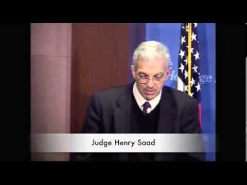 Judge Henry Saad - The Unfinished Work of the Fall of the Berlin Wall: Advancing the Rule of Law