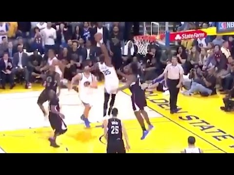 Kevin Durant Performs an Illegal Screen, 5-Step Travel & VICIOUS Dunk on the Same Play w/ NO Whistle