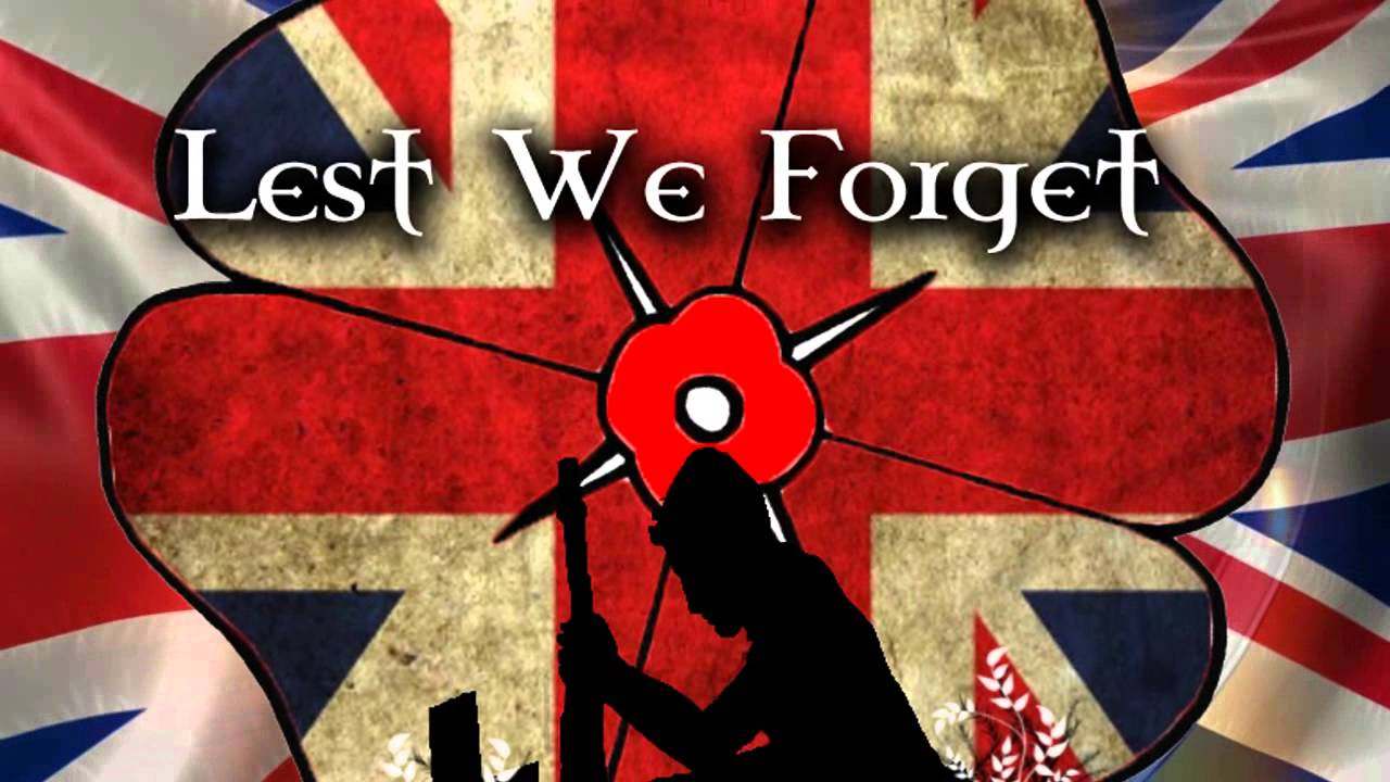 remembrance day lest we forget november 11th youtube