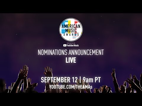 #iHeartSoCal - Watch The American Music Award Announcements on September 12th