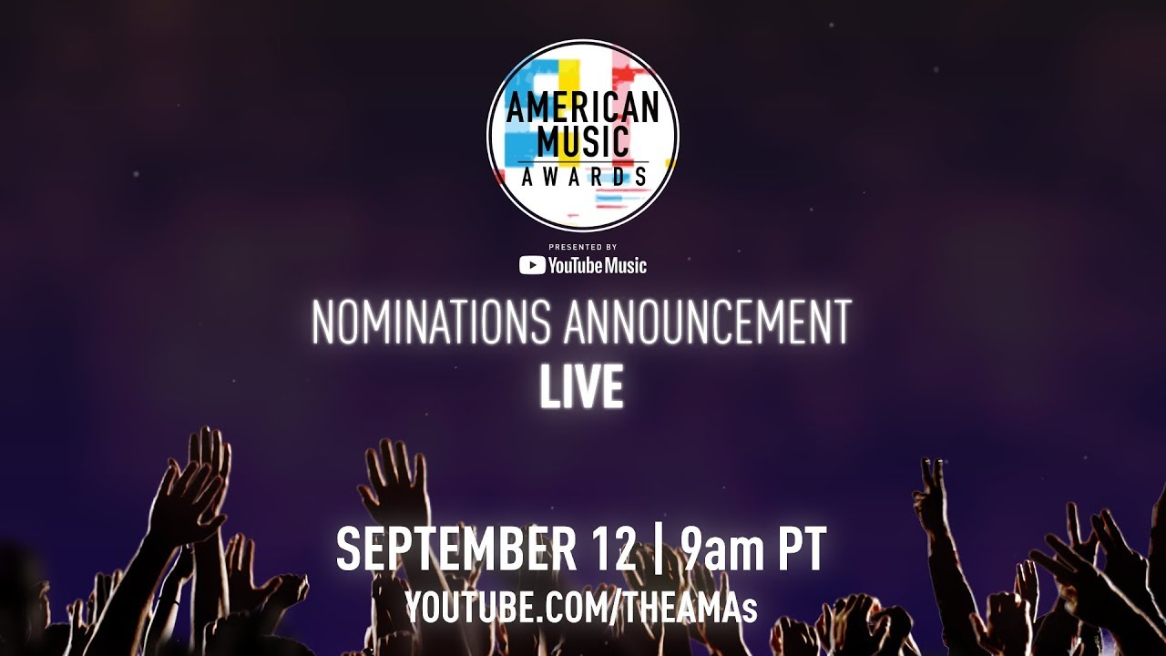 2018 American Music Awards Nominations Announcement