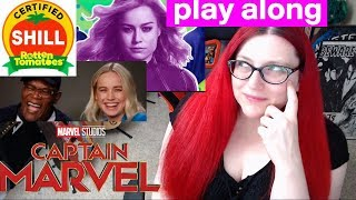 Captain Marvel Rotten Tomatoes Review Play Along Game!