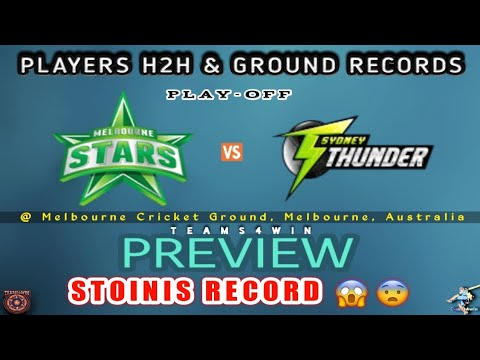 STA vs THU Dream11 Team, Stars vs Thunder Dream11 Team Prediction | THU vs STA ( BBL ) Dream11 Team