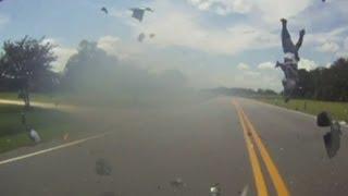 Man in South Carolina survives high speed motorcycle crash
