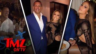 J LO and A-Rod Celebrate Their Birthdays Together | TMZ TV thumbnail