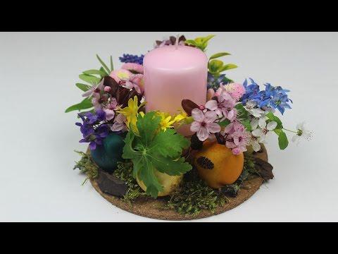 Osterdeko selber machen ❁ Tischdekoration mit Blumen ❁ Deko Ideen mit Flora-Shop