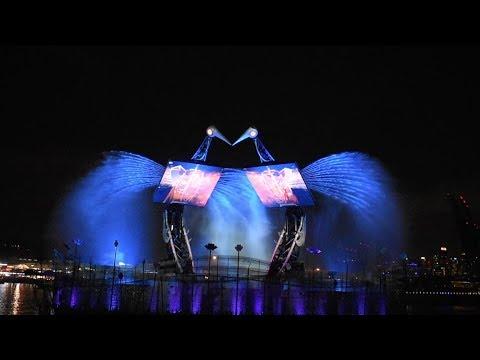 Sentosa Island, Singapore - The Crane Dance (2018)