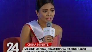 Maxine Medina, binatikos sa naging sagot niya sa kanyang send-off party