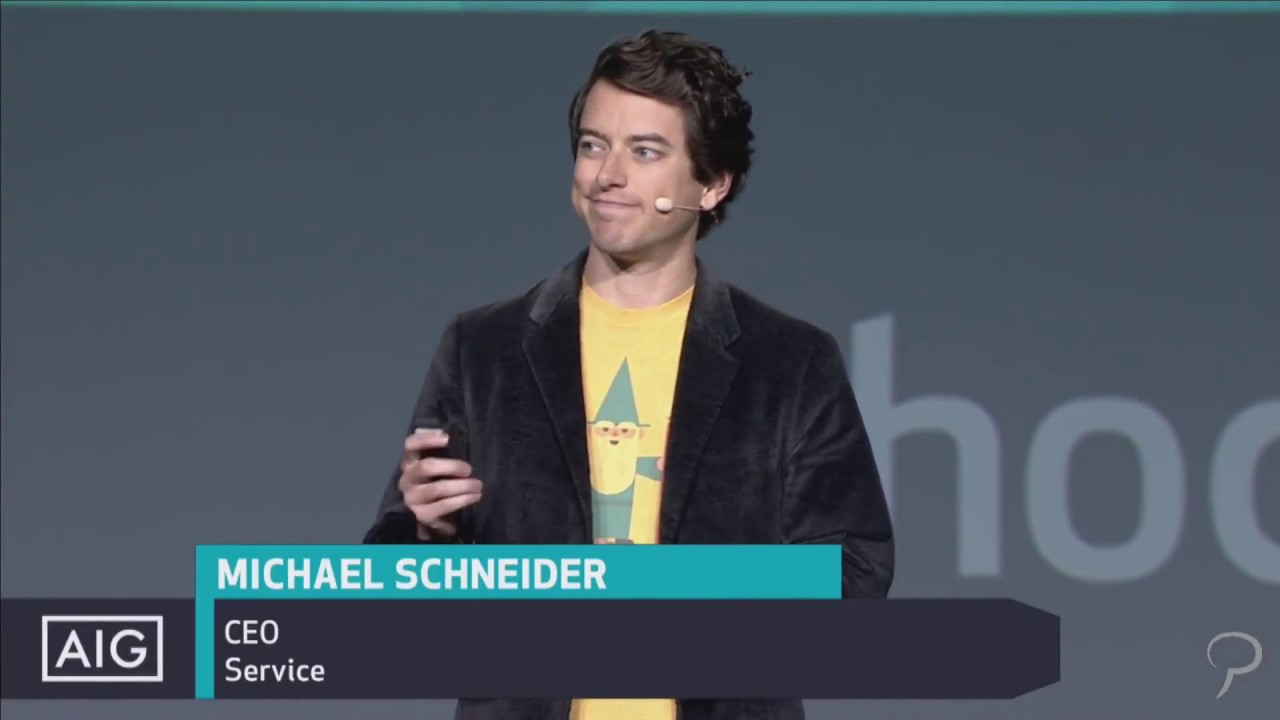 Michael Schneider (Service CEO) at Phocuswright 2017