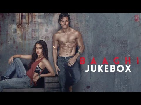 BAAGHI Full Movie Songs | JUKEBOX | Tiger...