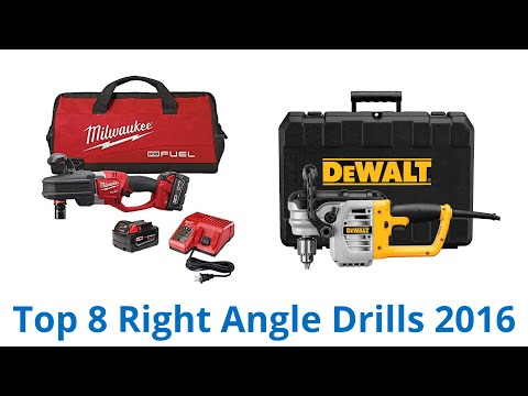 8 Best Right Angle Drills 2016