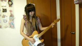 Repeat youtube video 【再うp】Over drive/JUDY AND MARYギター 演奏してみた