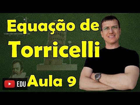Equação de TORRICELLI (MUV) - Cinemática Escalar - Aula 9 - Prof. Marcelo Boaro
