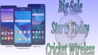 Cricket Wireless FLASH SALE Starts Feb 15th Alcatel Onyx Samsung Galaxy Halo Nokia 3.1 Plus