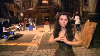 Samantha Barks Gives a Behind-The-Scenes Tour of the Les Miserables Set