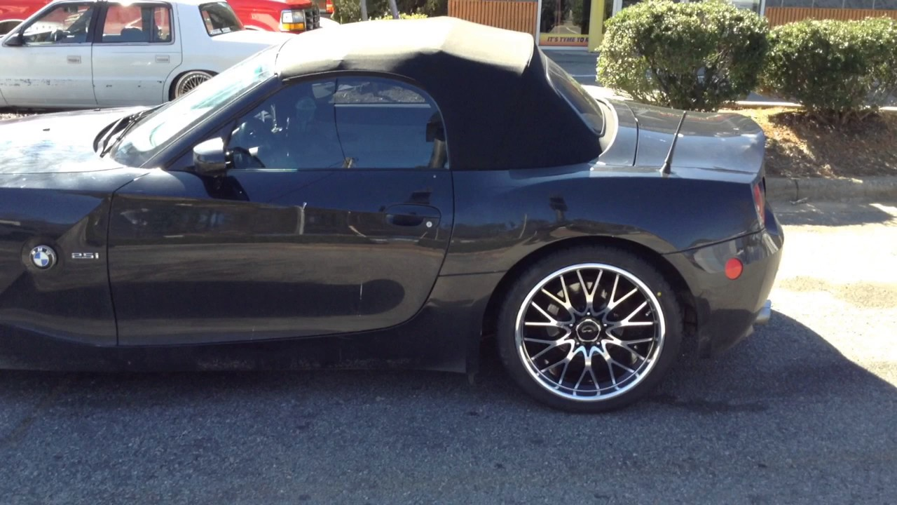 2003 Bmw Z4 Sitting On 18 Quot Drifz 302 S Leaving Rimtyme Of