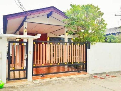 บ้านเช่าราคาถูก สุขุมวิท101 บ้านน่าอยู่เฟอร์ครบ ใกล้BTS ปุณวิถี คลิป 1/4
