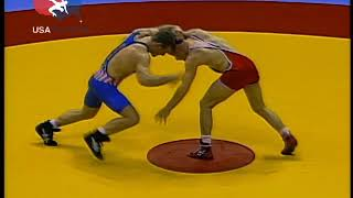 Tom Brands (USA) vs Zalimkhan Akhmadov (RUS) - 1996 USA vs Russia Dual