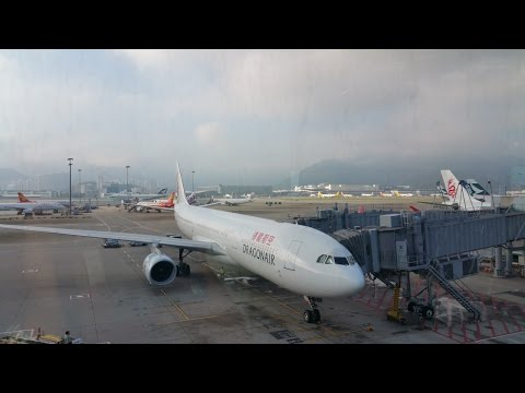 Dragonair KA660: Hong Kong Chek Lap Kok Int'l HKG ✈ Fuzhou Changle Int'l FOC
