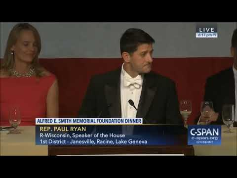 Paul Ryan Al Smith Dinner Speech (Ryan Speech Only)