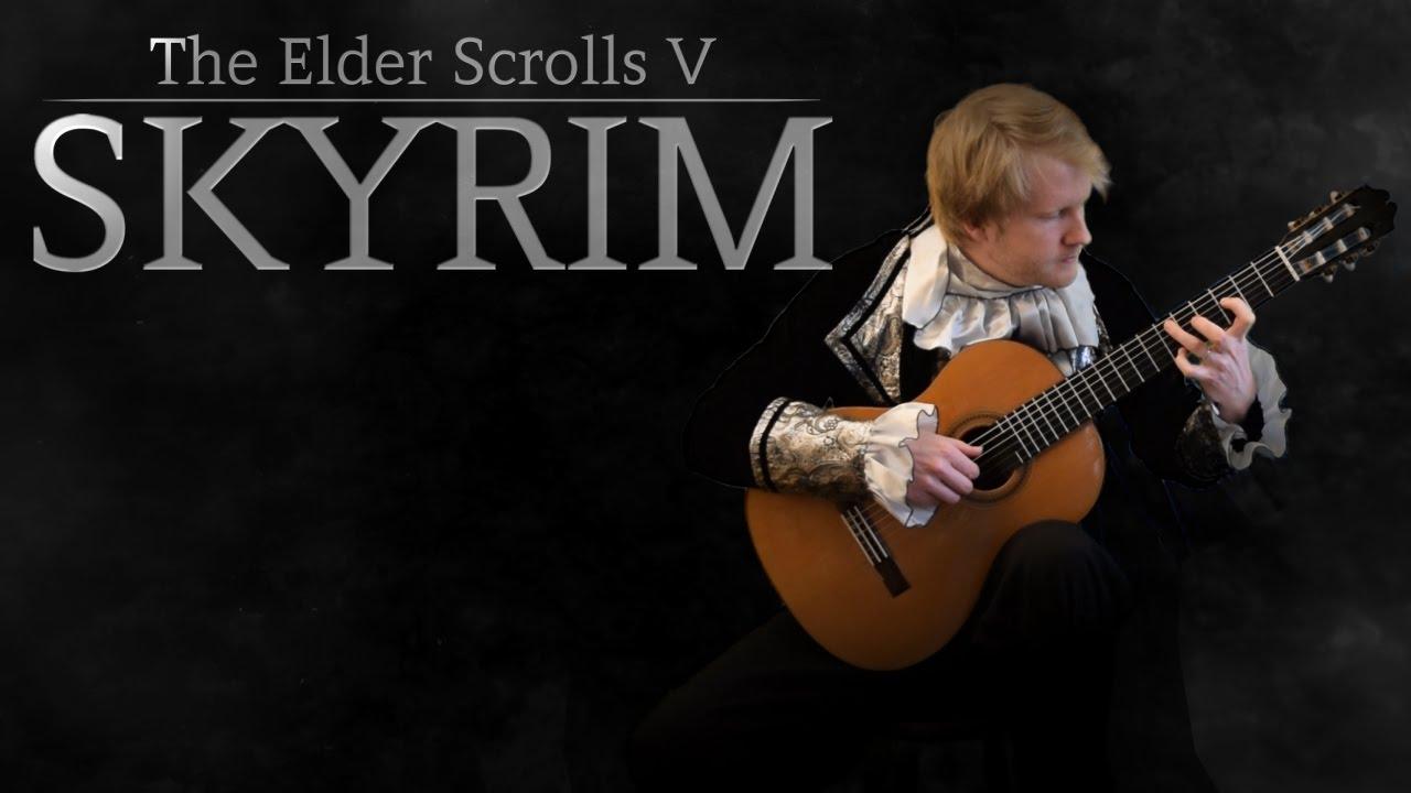 how to play skyrim on guitar