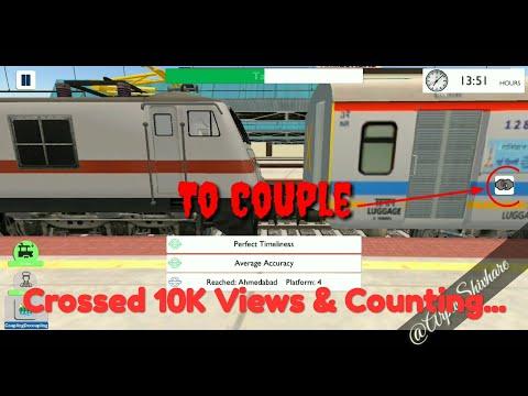 How to Couple & Decouple in Indian Train Simulator | Highbrow Interactive | in Hindi audio