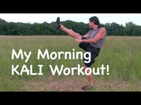 Incredible Leg Workout and Filipino Martial Arts - Paul Ingram Kali Center