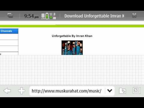 How to  Mp3 songs download in nokia n900