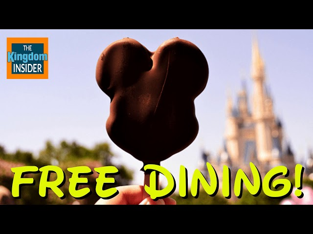 Free Disney Dining 2018 is Live! | Disney News